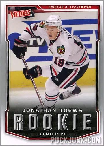 2007-08 Victory #316 - Jonathan Toews