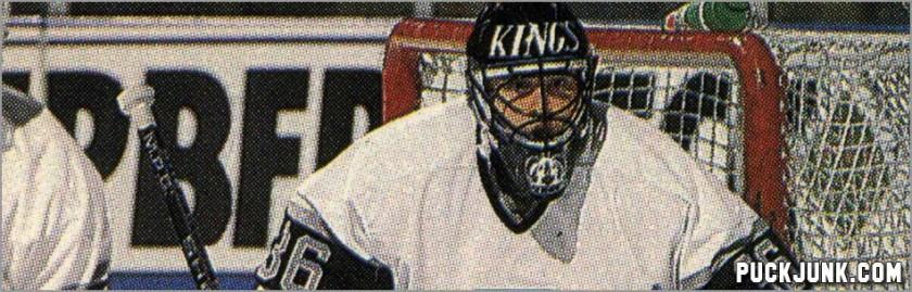 Daniel Berthiaume Hockey Card Detail