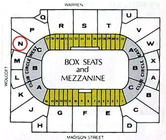 Chicago Stadium Seating Chart
