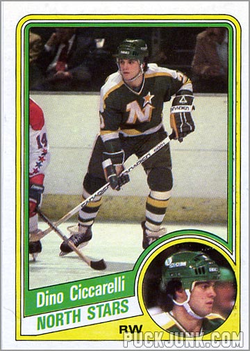 1984-85 Topps card #73 - Dino Ciccarelli