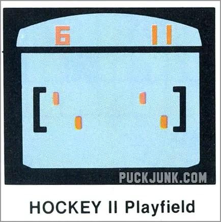 Video Olympics Hockey 2 playfield