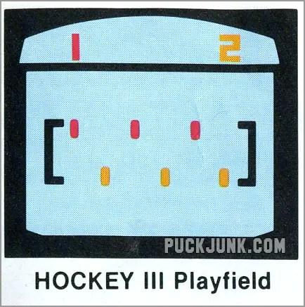 Video Olympics Hockey 3 playfield