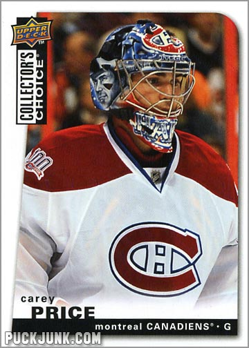 2008-09 Collector's Choice #23 - Carey Price