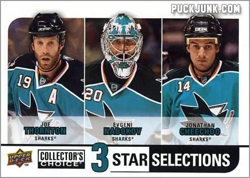 2008-09 Collector's Choice #275 - San Jose Sharks