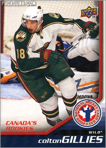2009 National Hockey Card Day #4 - Colton Gillies