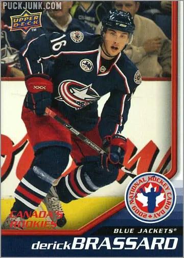 2009 National Hockey Card Day #5 - Derick Brassard