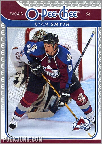 2009-10 OPC #62 - Ryan Smith (front)