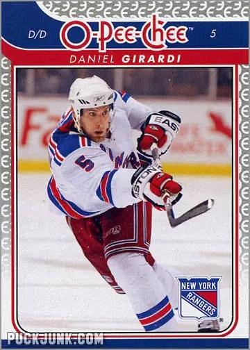 2009-10 OPC card #89 - Dan Girardi