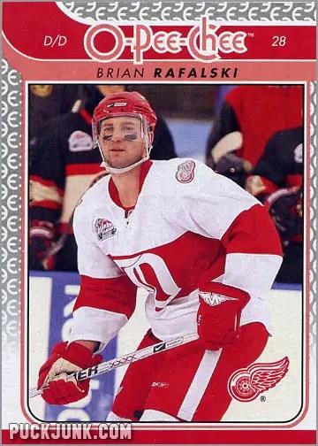 2009-10 OPC #103 - Brian Rafalski (front)