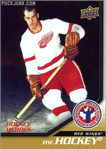 2009 National Hockey Card Day #13 - Mr. Hockey