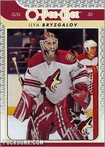 2009-10 OPC #476 - Ilya Bryzgalov (front)