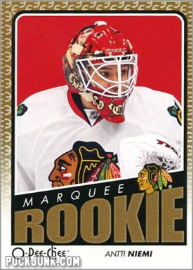 2009-10 OPC #548 - Antti Niemi (front)