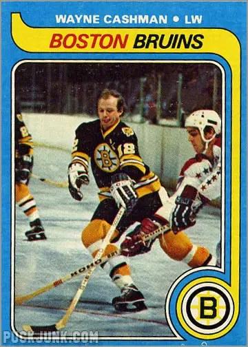1979-80 Topps #79 - Wayne Cashman