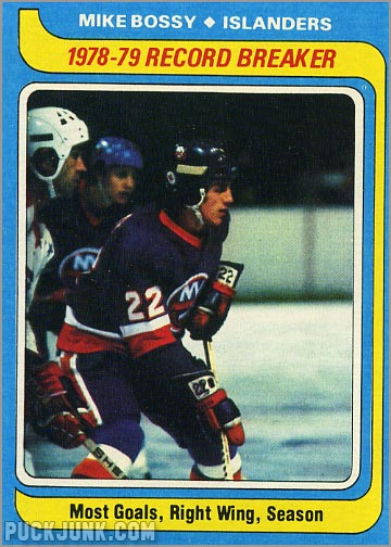 1979-80 Topps #161 - Record Breakers / Mike Bossy