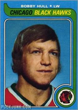 1979-80 Topps #185 - Bobby Hull