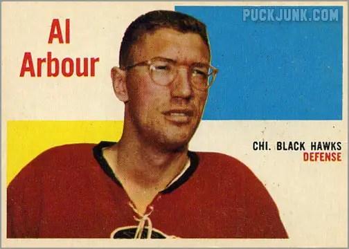 1960-61 Topps #64 - Al Arbour