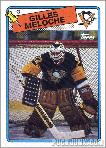1988-89 Topps #13 - Gilles Meloche