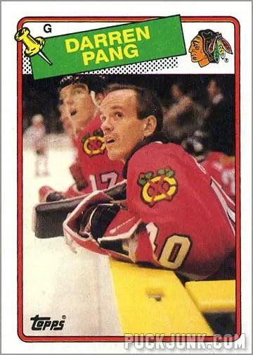 1988-89 Topps #51 - Darren Pang