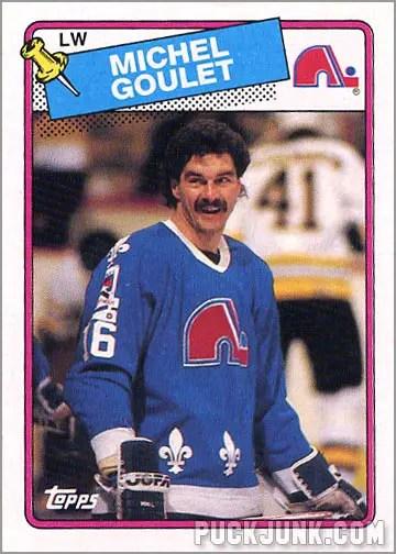 1988-89 Topps #54 - Michel Goulet