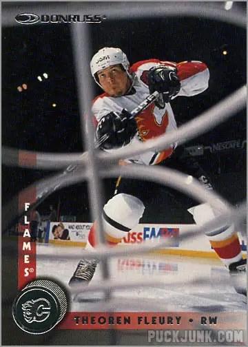 1997-98 Donruss card #160 - Theoren Fleury