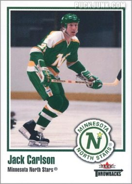 2002-03 Fleer Throwbacks #87 - Jack Carlson