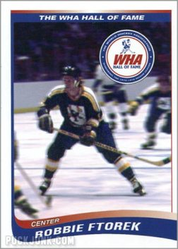 2010 WHA Hall of Fame #6 - Robbie Ftorek