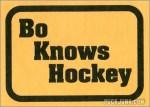 Bo Knows Hockey
