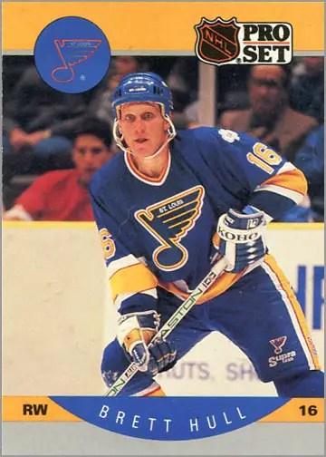 1990-91 Pro Set Brett Hull