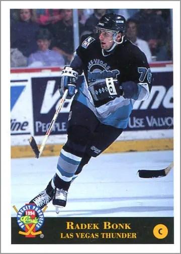 1993-94 Classic Pro Prospects Radek Bonk promo