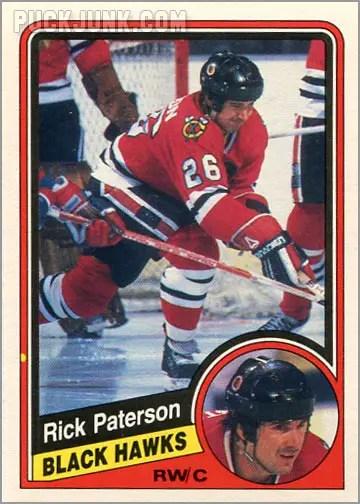 1984-85 OPC #44 - Rick Patterson