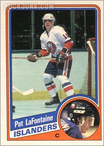 1984-85 OPC #129 - Pat Lafontaine