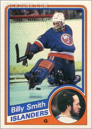 1984-85 OPC #135 - Billy Smith
