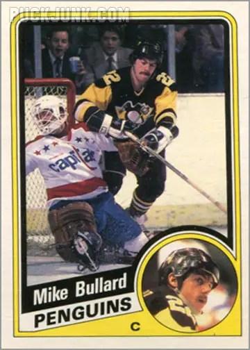1984-85 OPC #172 - Mike Bullard