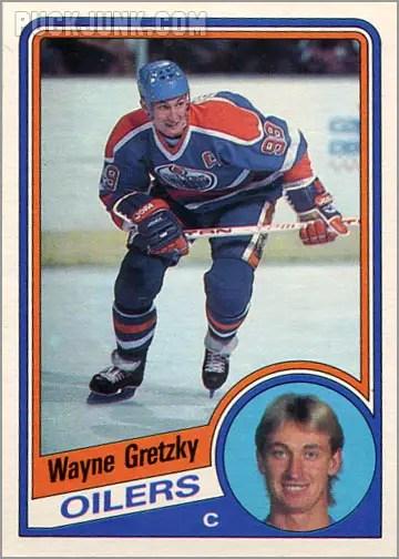 1984-85 OPC #243 - Wayne Gretzky