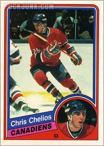 1984-85 OPC #254 - Chris Chelios