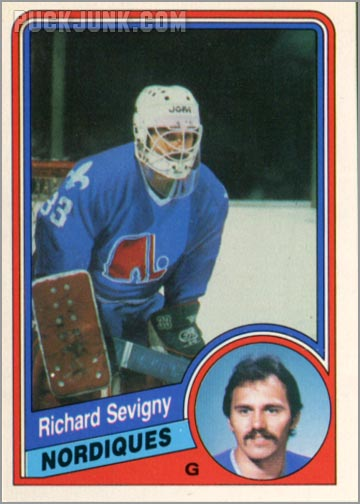 1984-85 OPC #289 - Richard Sevingy