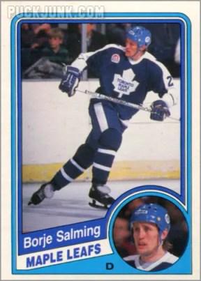 1984-85 OPC #311 - Borje Salming
