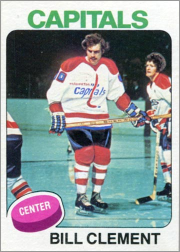 1975-76 Topps card #189 - Bill Clement