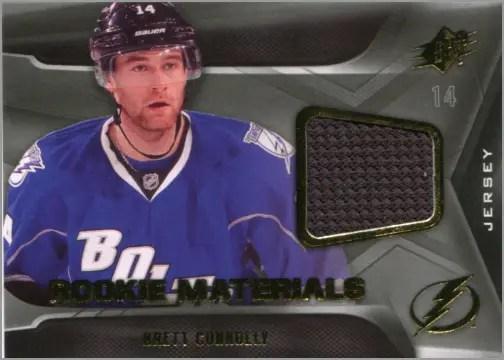 2011-12 SPx Rookie Materials - Brett Connolly