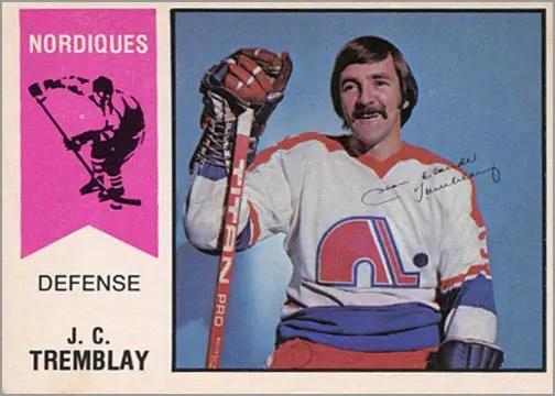 1974-75 OPC WHA #18 - J.C Tremblay