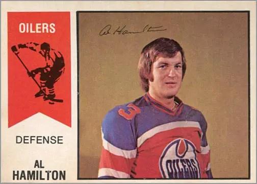 1974-75 OPC WHA #29 - Al Hamilton