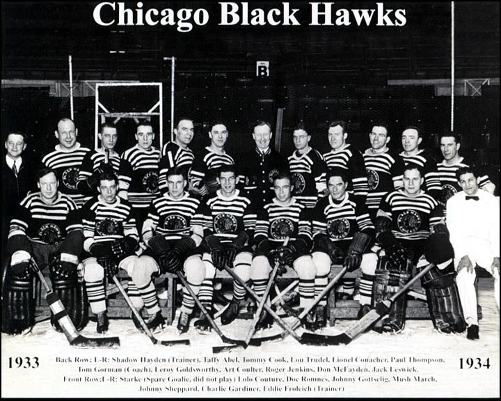 1933-34 Chicago Blackhawks