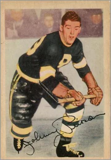 1953-54 Parkhurst #88 - John Pierson