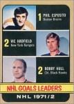A dozen 1972-73 O-Pee-Chee cards