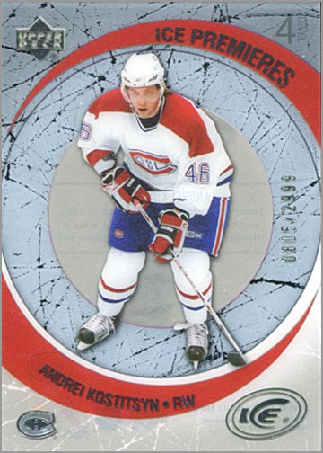 2005-06 Ice #214 - Andrei Kositsyn