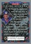 Review: 1993-94 Donruss Elite Series