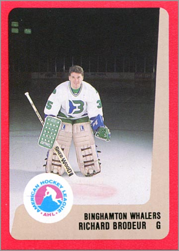 1988-89 ProCards AHL/IHL - Richard Brodeur