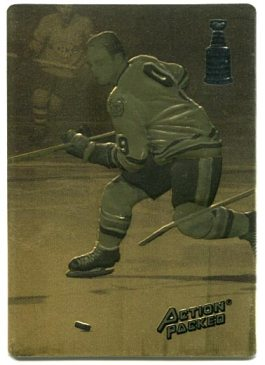 Action Packed Hockey Hall of Fame #BH2 - Bobby Hull Gold