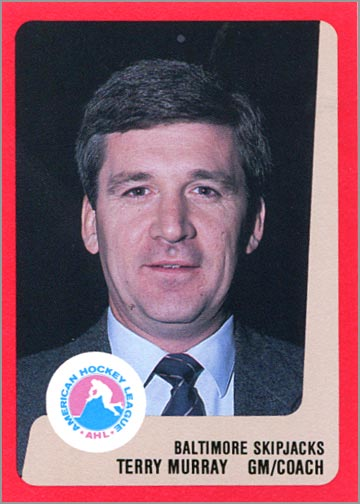 1988-89 ProCards AHL/IHL - Terry Murray