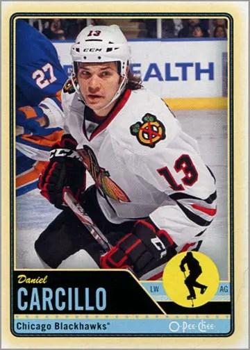 2012-13 O-Pee-Chee #285 - Daniel Carcillo